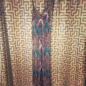 Colorful maxi dress